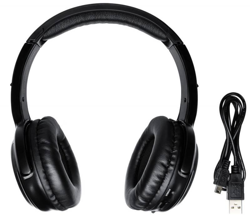 Наушники с микрофоном Oklick BT- LB988 черный - фото 2