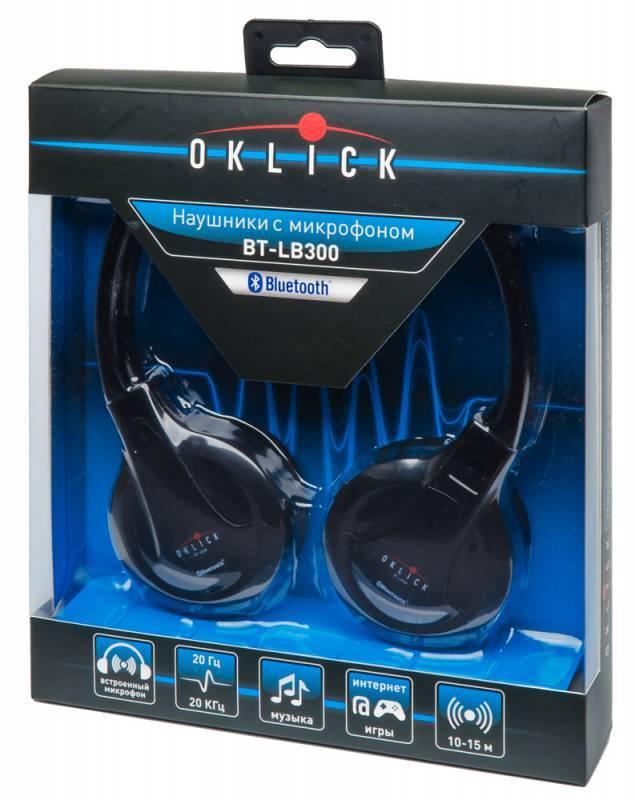 Наушники с микрофоном Oklick BT- LB300 - фото 6