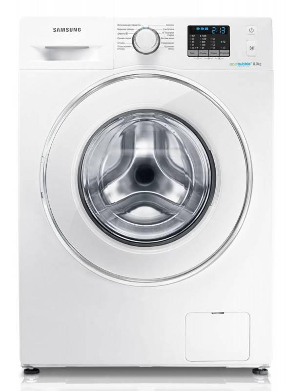 Стиральная машина Samsung WF80F5E2W4W белый - фото 1