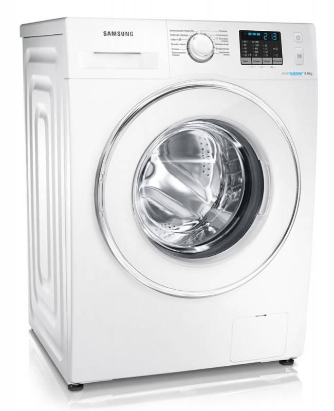 Стиральная машина Samsung WF80F5E2W4W белый - фото 3