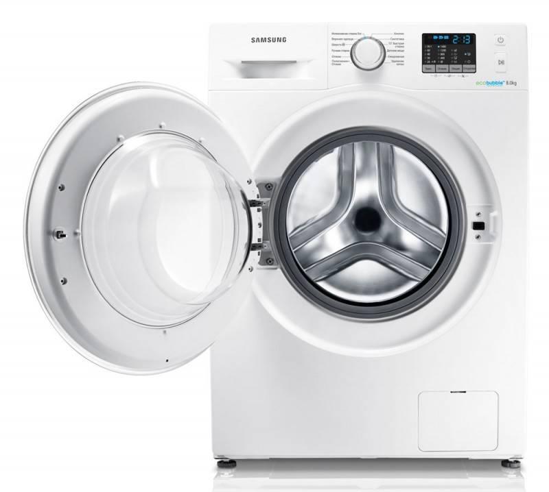 Стиральная машина Samsung WF80F5E2W4W белый - фото 5