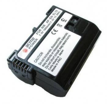 Аккумулятор для зеркальных камер AcmePower AP-EN-EL15
