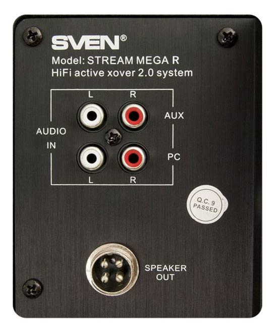 Акустическая система 2.0 Sven STREAM Mega R красный/вишня - фото 5