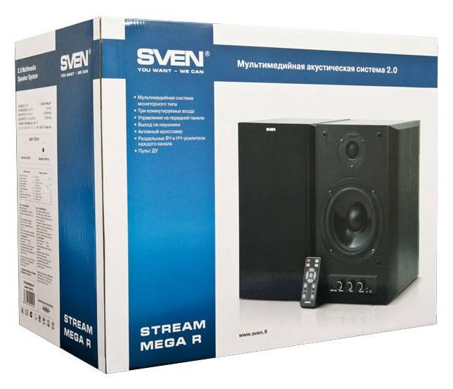 Акустическая система 2.0 Sven STREAM Mega R красный/вишня - фото 6