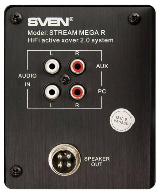 Колонки Sven STREAM MEGA R черный 2.0 - фото 6