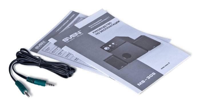 Колонки Sven MS-309 черный (SV-0130309BK) - фото 4