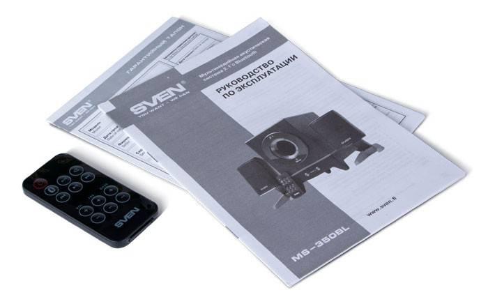 Колонки Sven MS-350BL черный 2.1 - фото 5