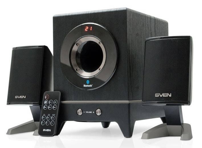 Колонки Sven MS-350BL черный 2.1 - фото 1
