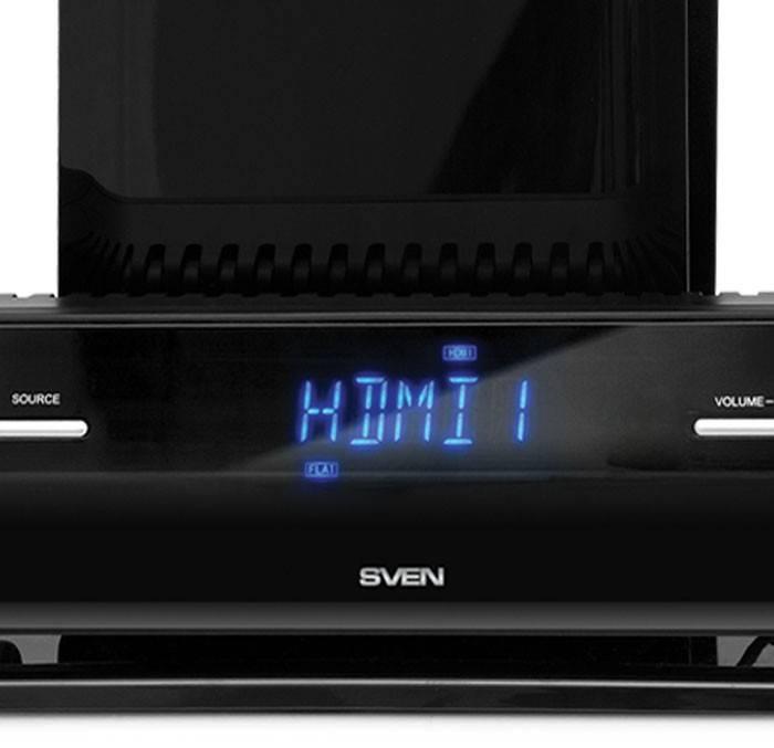 Звуковая панель 2.1 Sven SB-550 черный - фото 5