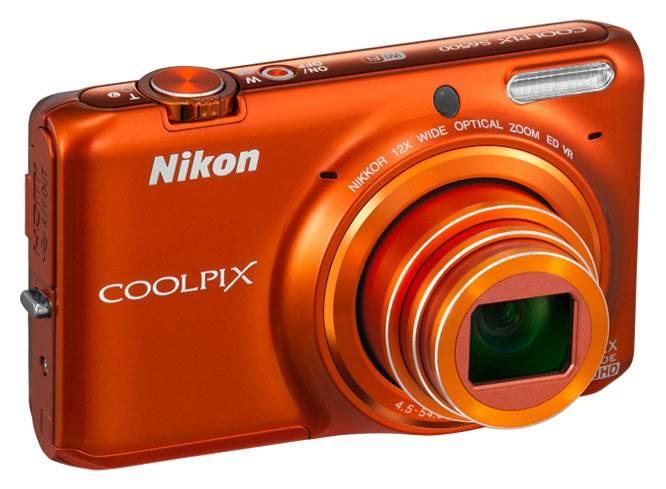 Фотоаппарат Nikon CoolPix S6500 оранжевый - фото 3