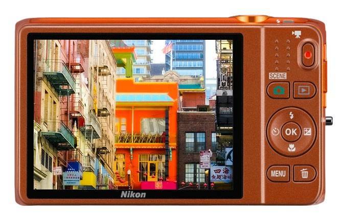Фотоаппарат Nikon CoolPix S6500 оранжевый - фото 5