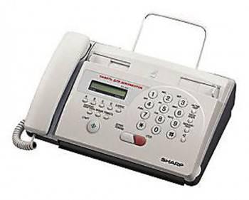 Факс Sharp FO55 белый