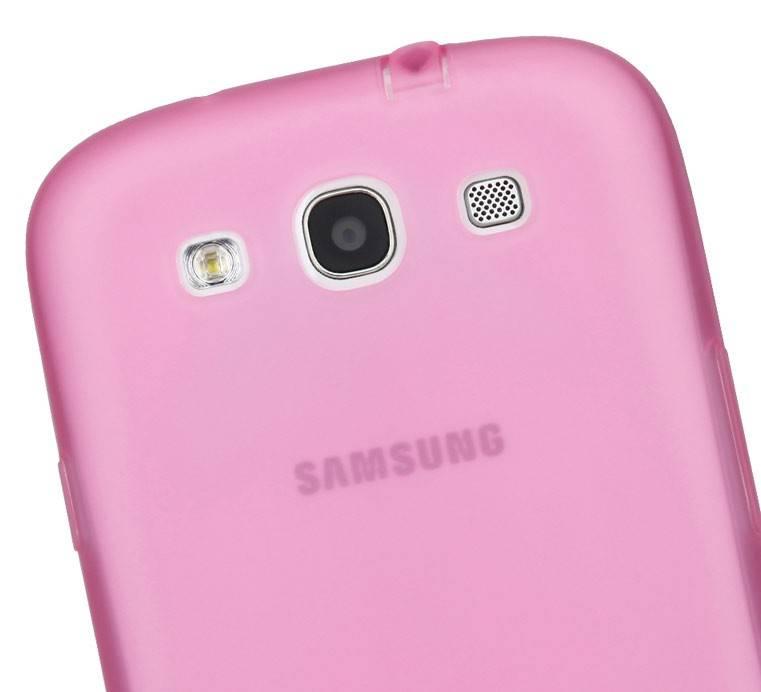 Чехол (клип-кейс) GGMM Pure-S розовый - фото 8