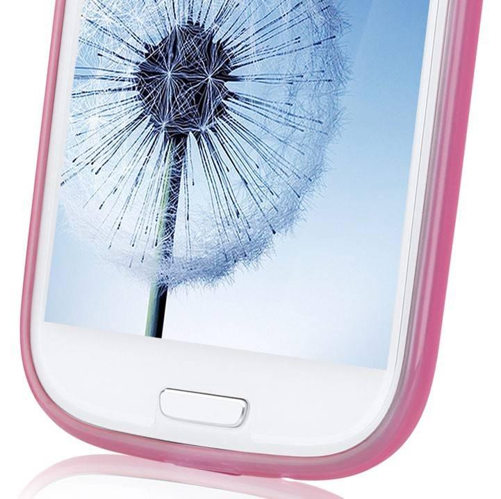 Чехол (клип-кейс) GGMM Pure-S розовый - фото 9