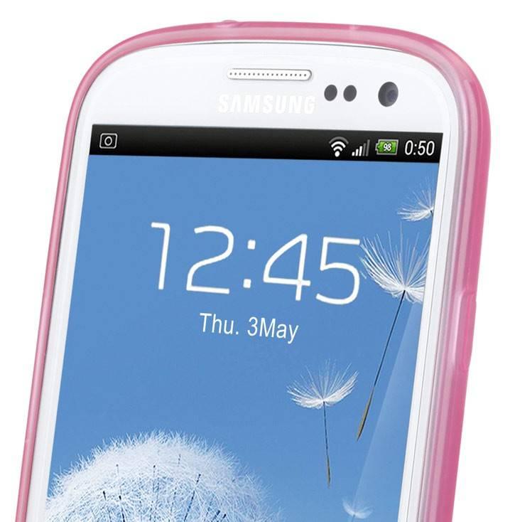 Чехол (клип-кейс) GGMM Pure-S розовый - фото 10