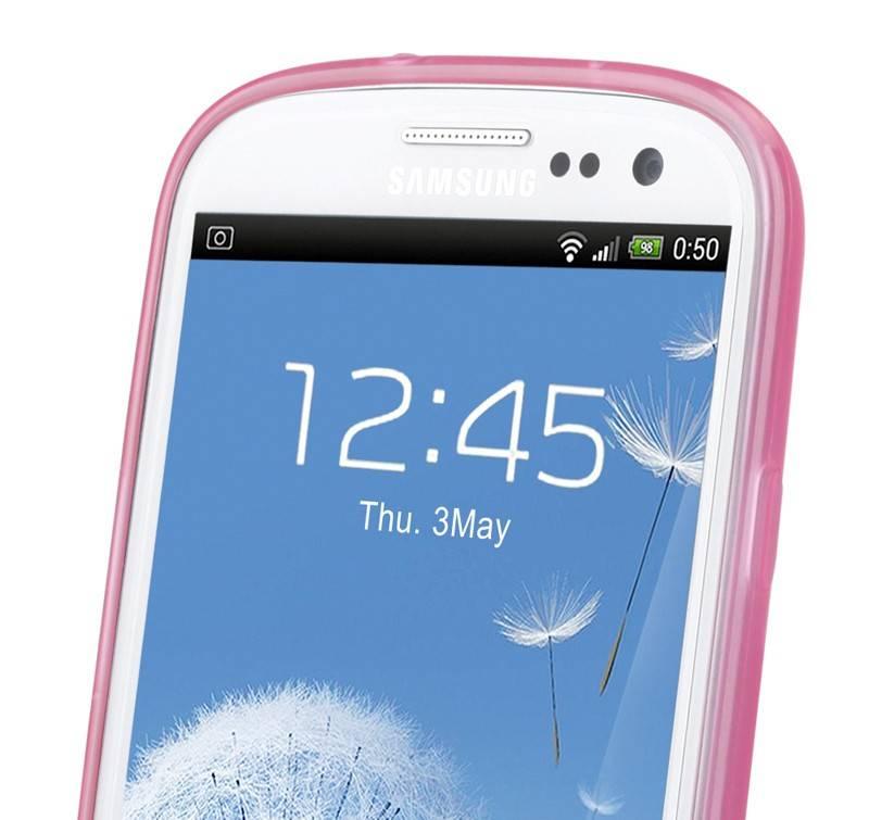 Чехол (клип-кейс) GGMM Pure-S розовый - фото 6