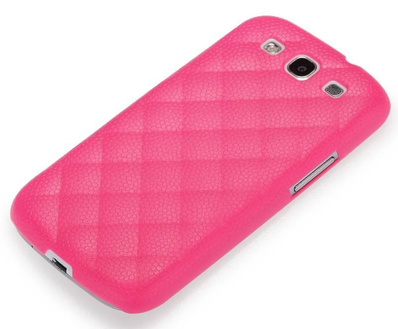 Чехол (клип-кейс) GGMM Diamond-s розовый - фото 2