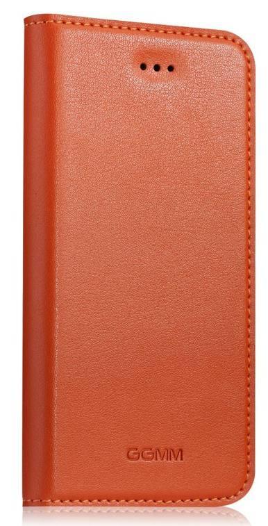 Чехол (флип-кейс) GGMM Kiss оранжевый - фото 1