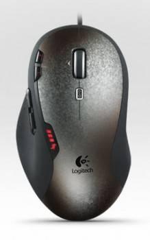 Мышь Logitech G500 черный / серый