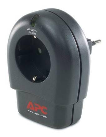 Сетевой фильтр APC APC P1T-RS черный - фото 1