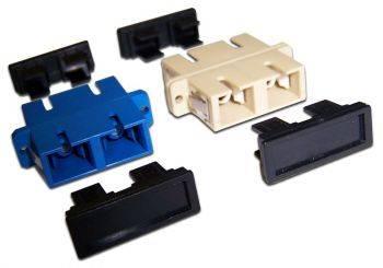 Адаптер проходной Lanmaster TWT-2SC-AM-SM SC duplex OS1/OS2 синий