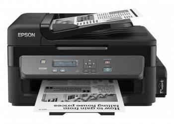 МФУ струйный Epson M200, максимальный формат A4, скорость печати А4: монохромная до 34стр/мин (C11CC83311)