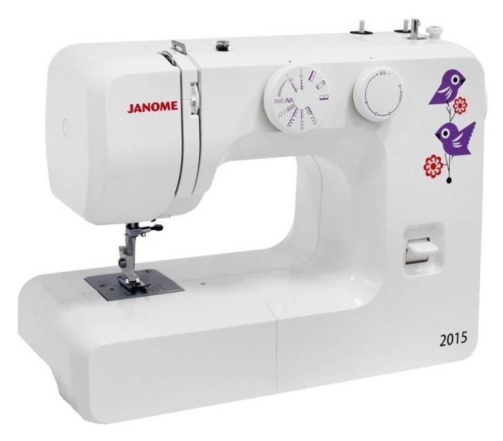 Швейная машина Janome 2015 белый - фото 1