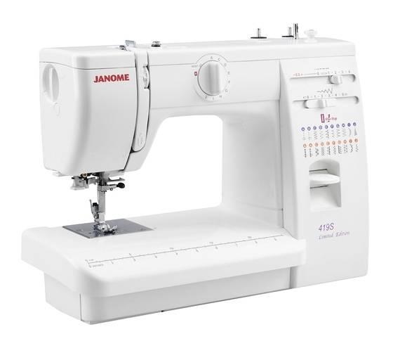 Швейная машина Janome 419S белый - фото 1