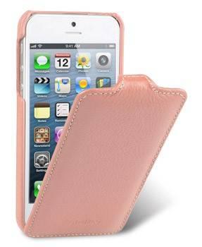 Чехол Melkco для iPhone 5/5S Jacka Type LC розовый (APIPO5LCJT1PKLC) - фото 1