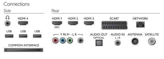 """Телевизор LED 42"""" Philips 42PFL7008S/60 черный - фото 4"""