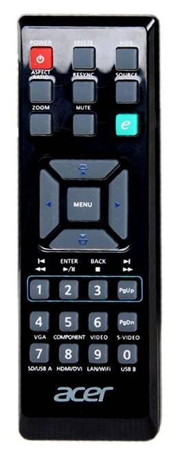 Проектор Acer P1340W черный - фото 2