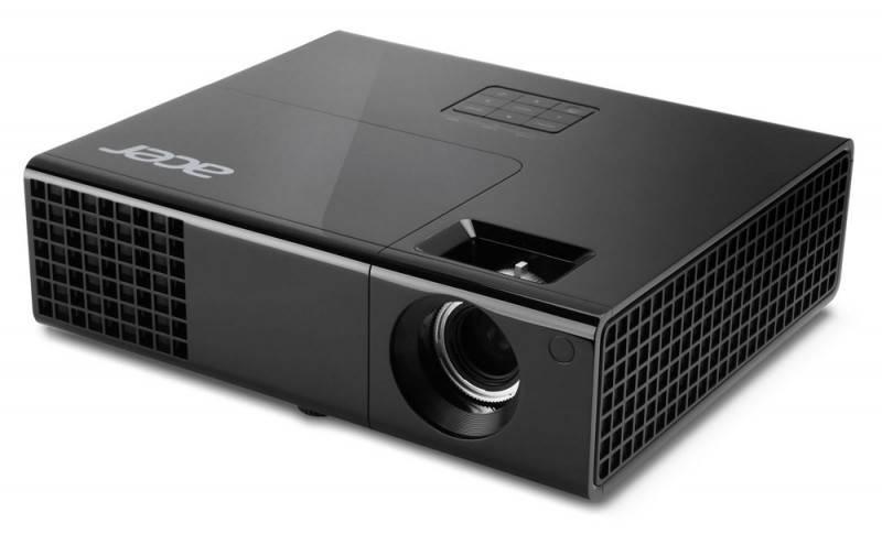 Проектор Acer P1340W черный - фото 1
