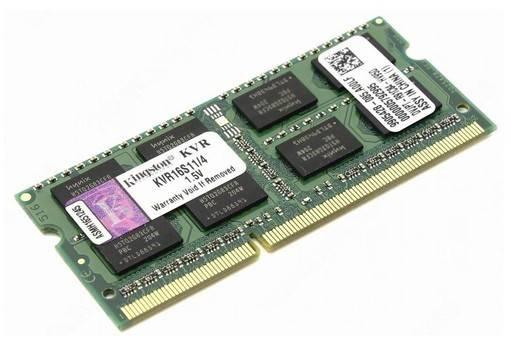 Модуль памяти SO-DIMM DDR3 4Gb Kingston KVR16S11/4 - фото 1