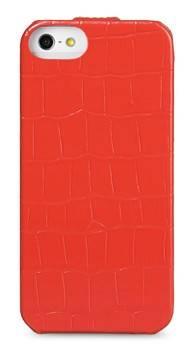 Чехол Melkco для iPhone 5/5S Jacka Type Crocodile красный (APIPO5LCJT1RDCR) - фото 1