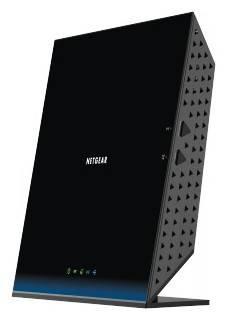 Беспроводной маршрутизатор NetGear D6200-100PES черный