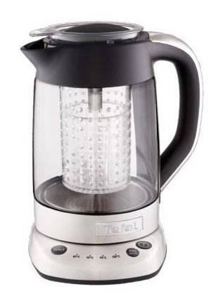 Чайник электрический Tefal BJ700D32 серебристый/черный - фото 1