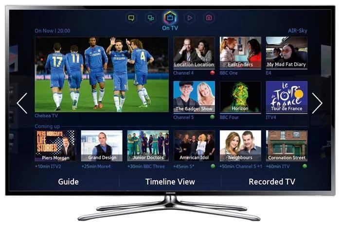 """Телевизор LED 32"""" Samsung UE32F6400AK черный - фото 1"""