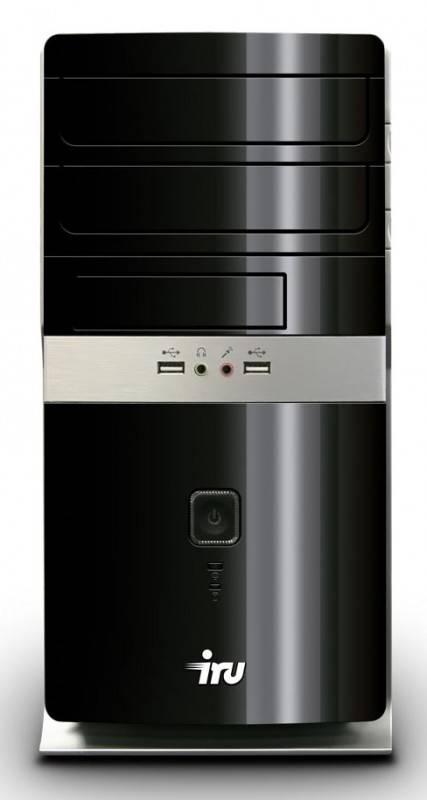 Системный блок IRU Corp 525 черный/красный - фото 1