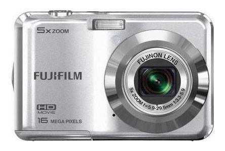 Фотоаппарат FujiFilm FinePix AX650 серебристый - фото 1