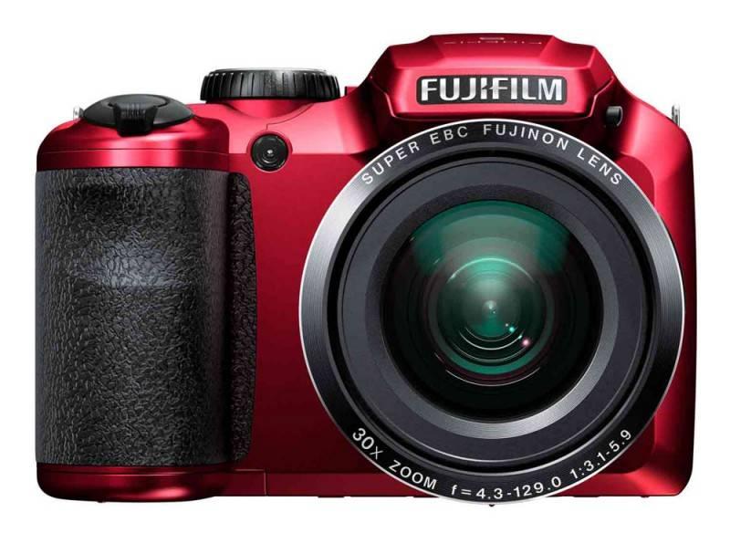 Фотоаппарат FujiFilm FinePix S4800 красный - фото 1