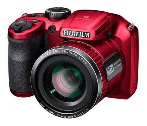 Фотоаппарат FujiFilm FinePix S4800 красный - фото 2