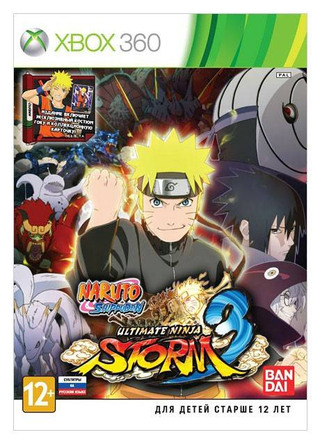 Игра для Xbox360 Microsoft Naruto Shippuden: Ultimate Ninja Storm 3 Day 1 Edition - фото 1