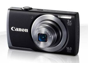 Фотоаппарат Canon PowerShot A3500 IS черный - фото 1