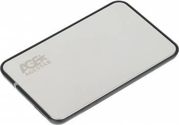Внешний корпус для HDD/SSD AgeStar 3UB2A8S-6G SATA III серебристый (3UB2A8S-6G (SILVER))