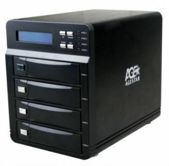 Внешний корпус для HDD AgeStar 3C4B3A SATA II черный