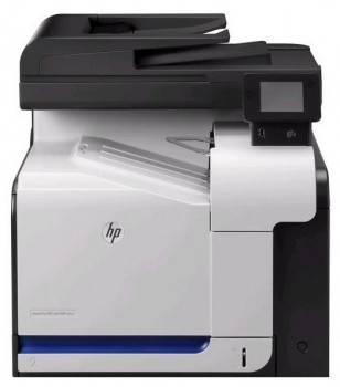 МФУ HP Color LaserJet Pro 500 MFP M570dn черный / белый