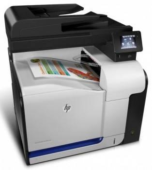 МФУ HP Color LaserJet Pro 500 MFP M570dw черный/белый (CZ272A)