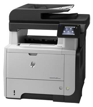 МФУ HP LaserJet Pro M521dw черный/белый (A8P80A) - фото 1