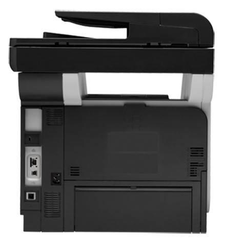 МФУ HP LaserJet Pro M521dw черный/белый - фото 2