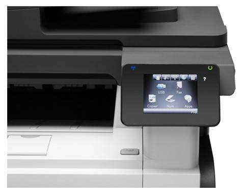 МФУ HP LaserJet Pro M521dw черный/белый (A8P80A) - фото 4